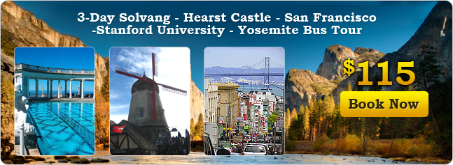 Solvan, Hearst Castle & San Francisco tour