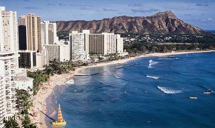 五日夏威夷欧胡岛檀香山,珍珠港,小环岛超值游