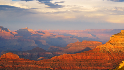 10-Day Bus Tour Package to Grand Canyon South, Las Vegas, San Francisco, Yosemite, Three Theme Parks from Los Angeles