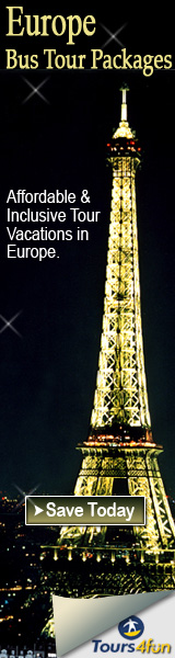 Affordable & Inclusive Tour Vacations In Europe.