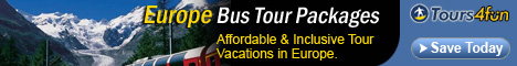 Affordable & Inclusive European Bus Tour Packages