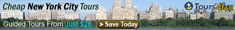 Cheap Guided New York City Tours from Just $26!