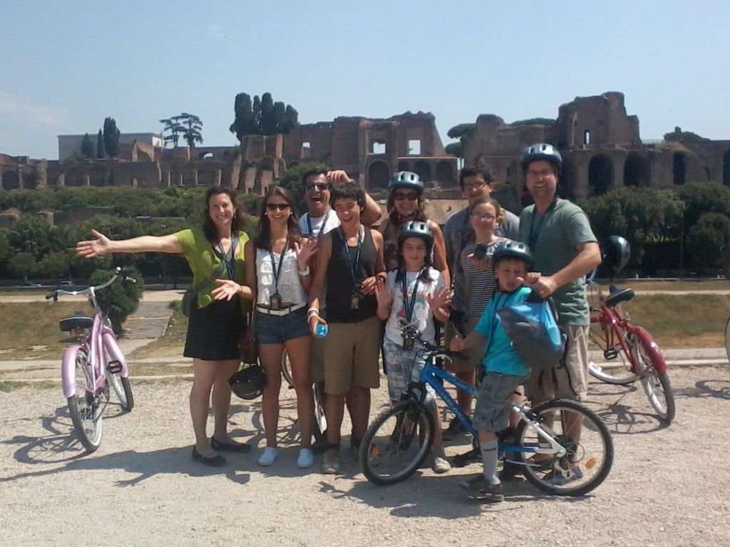 Rome Bike Tour with Personal Guide