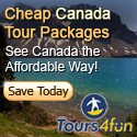 Cheap Canada Tour Packages