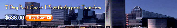 7 Day East Coast: US with Airport Transfers (First Class)