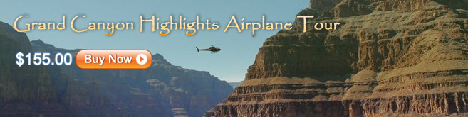 Grand Canyon Highlights Airplane Tour