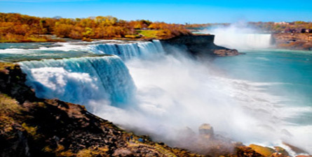 See the spectacular power of Niagara Falls, and take in the views of gorgeous Canada!