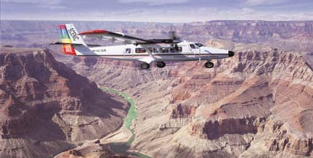 This is the perfect tour for those who only have a limited time! The best way to truly appreciate the majesty and beauty of the Grand Canyon is by air.