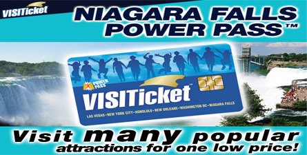Pay one price for admission to top Niagara Falls sights, tours, rides and more, in both the United States and Canada.