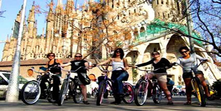 Bike ride through beautiful Barcelona while sharing stories, myths and slices of city�s exciting history!