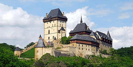 Take a bike ride through the Prague countryside and see the spectacular Karlstejn Castle!