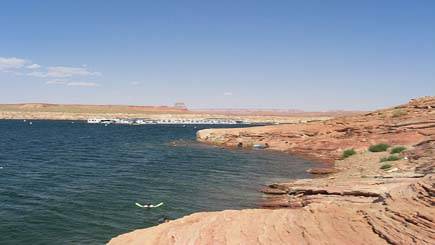 Rainbow Bridge and Lake Powell Airplane Tour