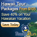 Hawaii Tour Packages from $105