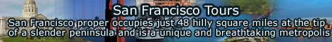 San Francisco Tours, San Francisco, proper occupies just 48 hilly square miles at the tip of a slender peninsula and is a unique and breathtaking metropolis