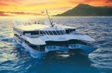 Pali Makani Helicopter and Navatek Sunset Cruise with Buffet Dinner
