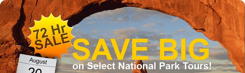 72 Hour National Parks Tour Sale Niagara Falls