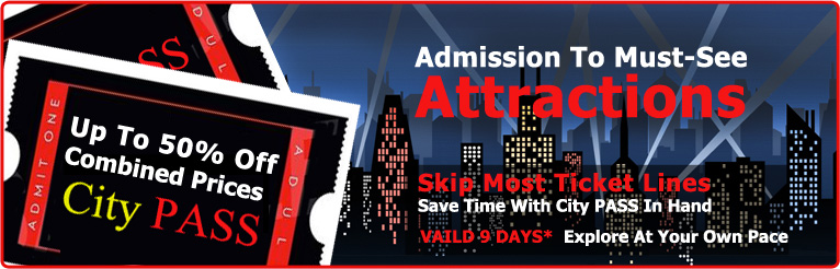 City pass discount attractions new york san francisco for Cheap attractions in new york city