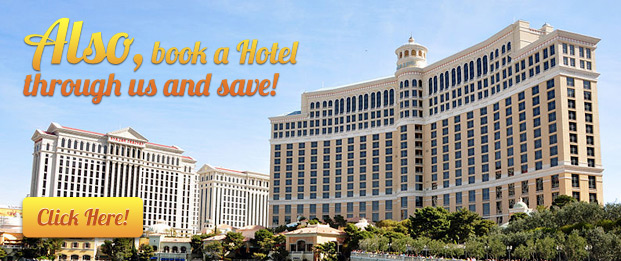 Also, book a Hotel through us and save!