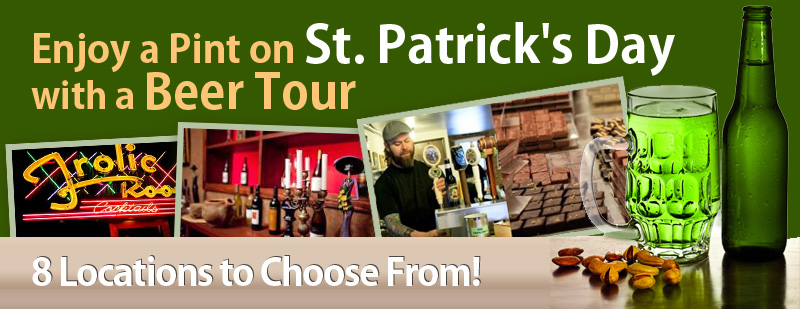 Enjoy a Pint on St. Patrick's Day with a Beer Tour
